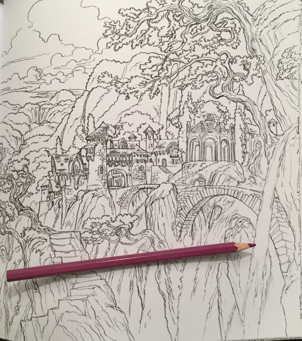A Court Of Thorns And Roses Coloring Book Review Coloring Queen