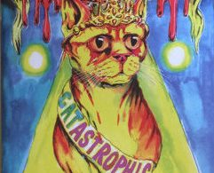 Robert Maltby Colouring Book of Catastrophic Cats cover