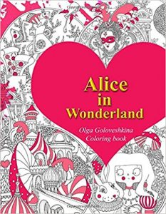 Alice in Wonderland Coloring Book Review