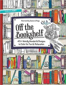 Off the Bookshelf Coloring Book Review