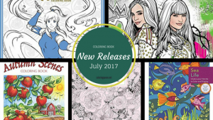 Coloring Books – New Releases – July – 2017