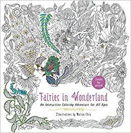 Fairies in Wonderland Coloring Book Review