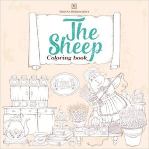 Sheep Coloring Book Review