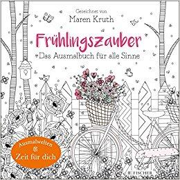 Frühlingszauber: Das Ausmalbuch für alle Sinne Coloring Book Review