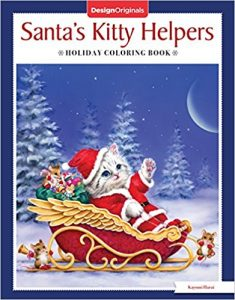 Santa's Kitty Helpers Coloring Book Review