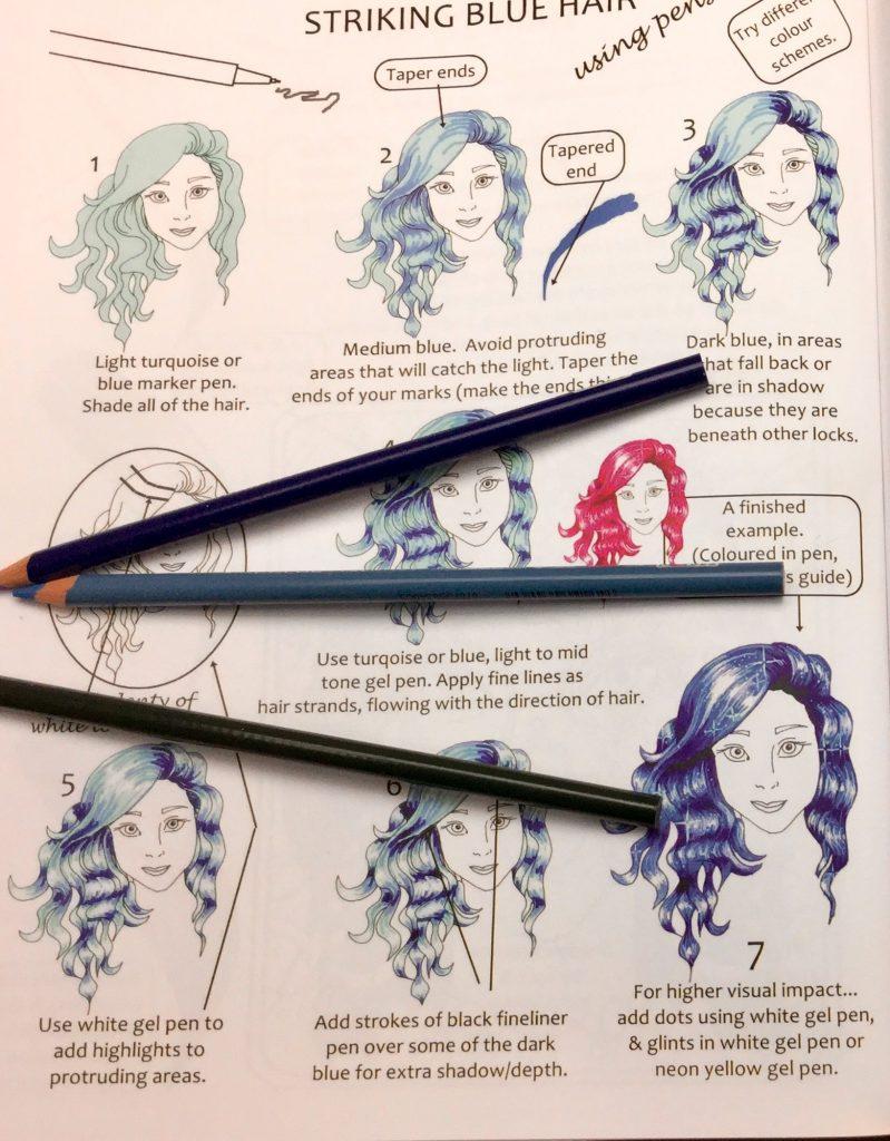 step by step coloring hair tutorial