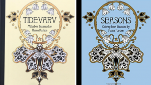 Seasons Coloring Book Review (comparison with Tidevarv)