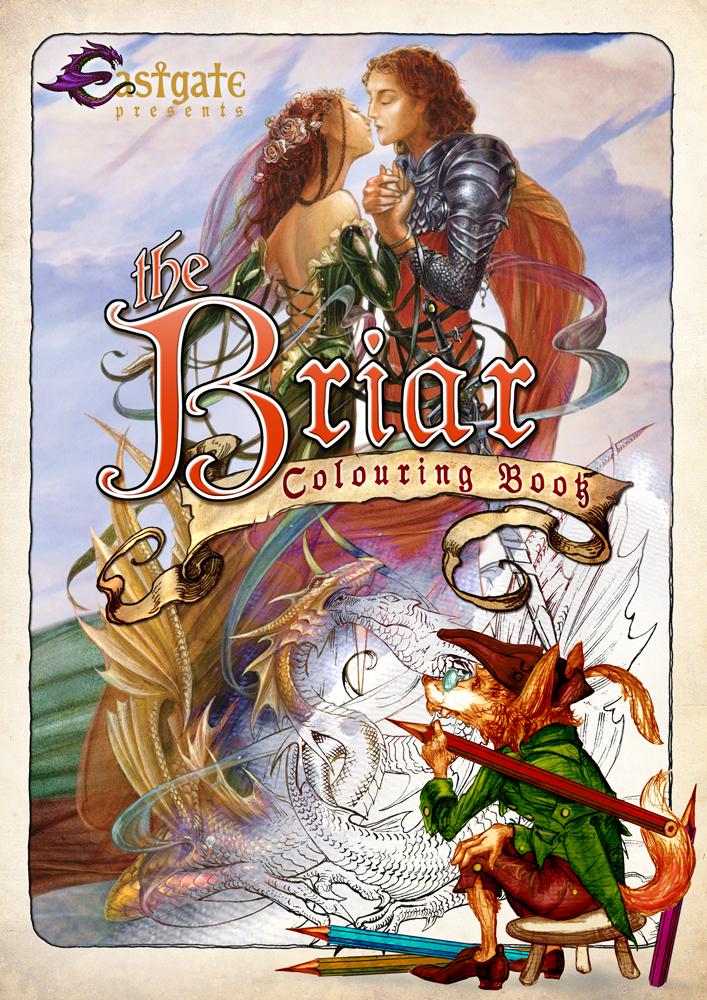 The Briar Colouring Book