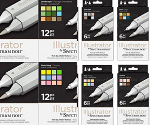 Spectrum Noir Illustrator Markers Review