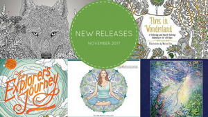Coloring Books – New Releases – November – 2017
