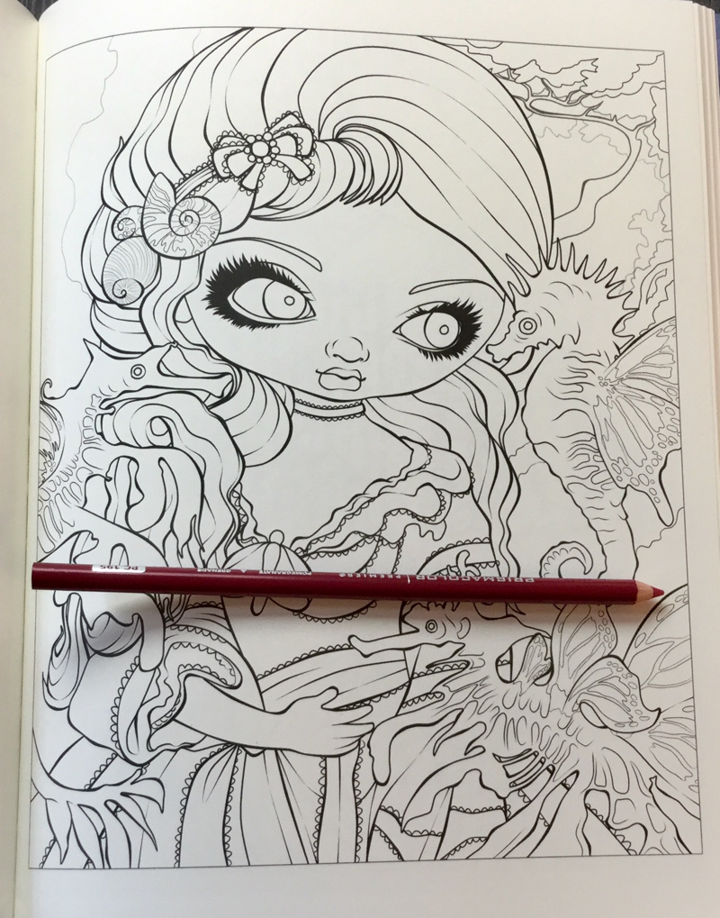 Mermaids Coloring Book An Aquatic Art Adventure Coloring Book