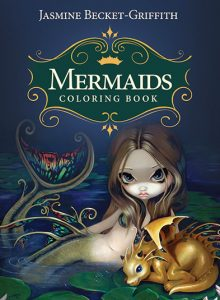 Mermaids Coloring Book: An Aquatic Art Adventure  Coloring Book Review