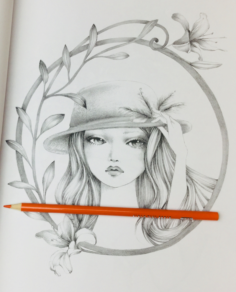 Surreal Fantasy Grayscale /& Underpainting Coloring Book Color My Art