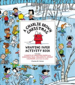 A Charlie Brown Christmas Wrapping Paper Activity Book