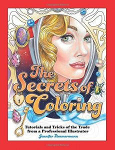 The Secrets of Coloring – Coloring Book Review