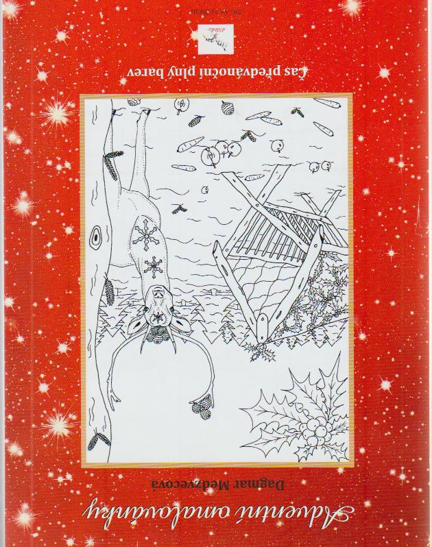Adventi Omalovanky Coloring Book