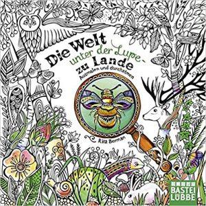 Die Welt unter der Lupe zu Lande Coloring Book Review