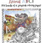 WEAnimalABCs 150x150 - The Bakers Dozen Coloring Book Review