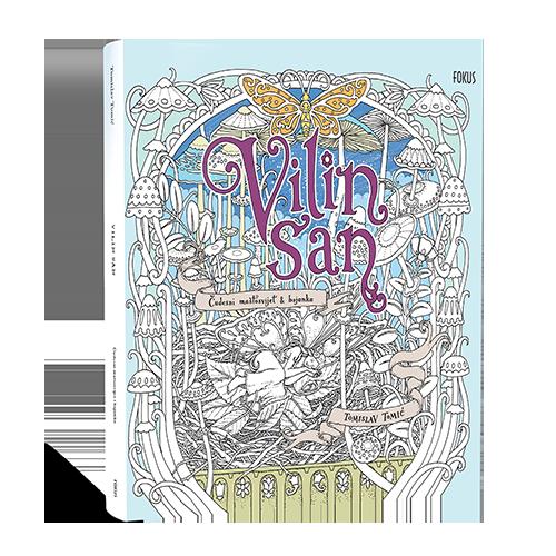 Vilin San Coloring Book