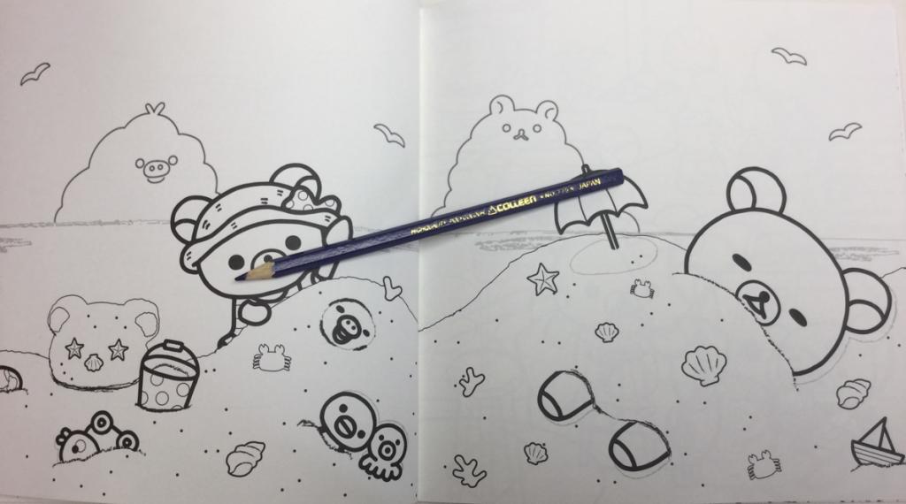 rilakkuma bear coloring pages - photo#36