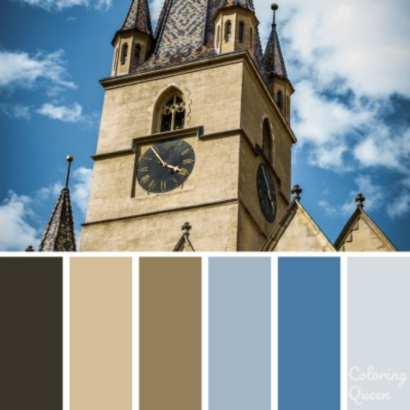 Old church color palette