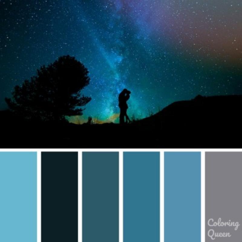Color Schemes Coloring Queen