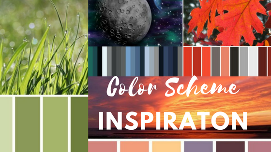 color scheme inspiration for coloring books