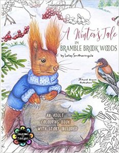 A Winter's Tale in Bramble Brook Woods Coloring Book Review