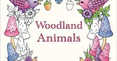 Woodland Animals Coloring book cover
