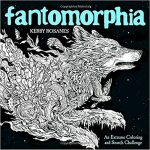 Fantomorphia coloring book 150x150 - World Travel Disney Painting  Coloring Book Review