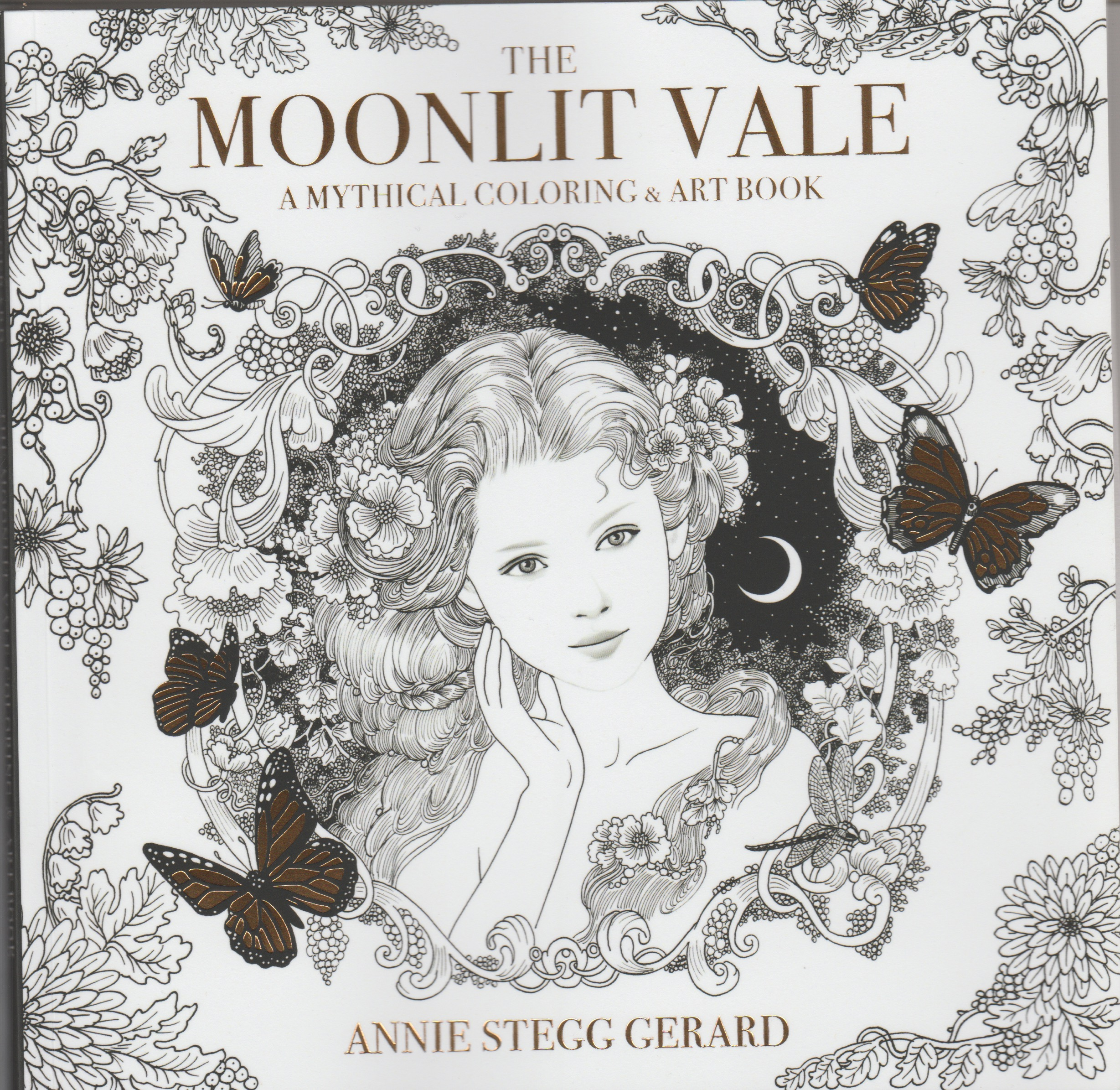 The Moonlit Vale Coloring Book