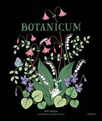 Botanicum coloring book cover