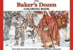 The Bakers Dozen coloring book cover art