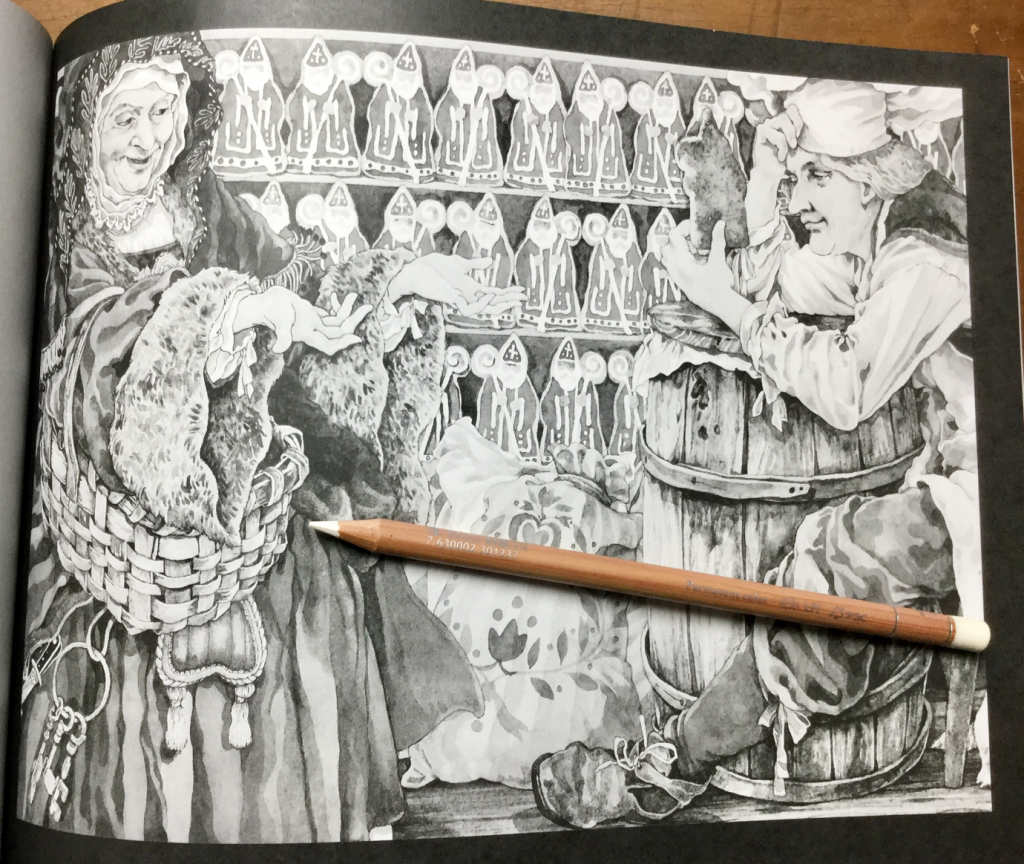 The Bakers Dozen Greyscale Coloring Book