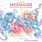 Pop Manga Mermaids and Other Sea Creatures Coloring Book Review