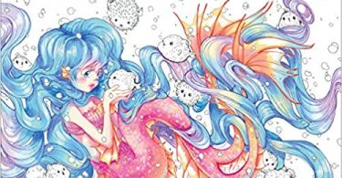pop manga mermaids and other sea creatures coloring book  375x195 - Pop Manga Mermaids and Other Sea Creatures Coloring Book Review