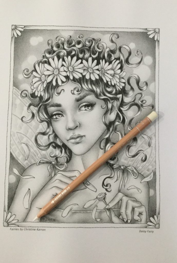 Fairies Grayscale Coloring Book Review Coloring Queen