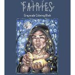 Fairies Grayscale Coloring Book Review