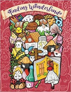 Finding Wonderland Coloring Book Review