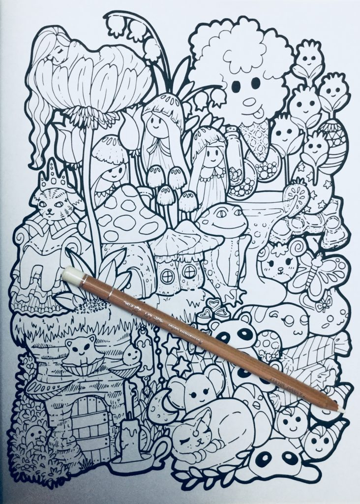 - Finding Wonderland Coloring Book Review Coloring Queen