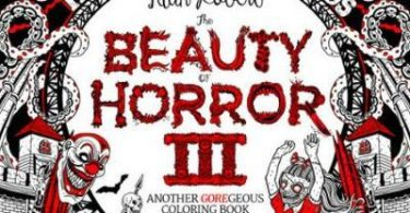 beauty of horror 3 alan robert 375x195 - Beauty of Horror III - Haunted Playgrounds Coloring Book Review