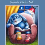 Benny Blue Grayscale  Coloring Book Review