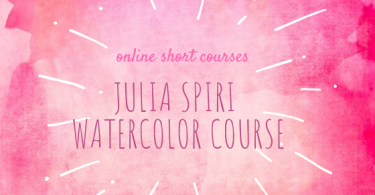 julia spiri watercolor course 375x195 - Julia Spiri Watercolour Courses