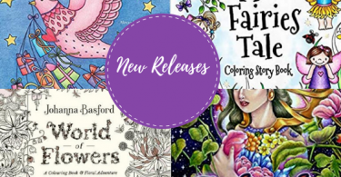 New coloring book Releases 375x195 - Coloring Books - New Releases - October / November - 2018