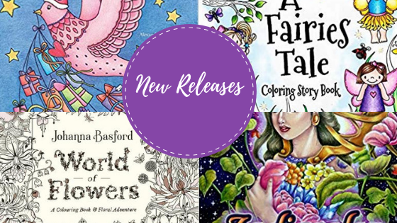 Coloring Books - New Releases - October / November - 2018 | Coloring