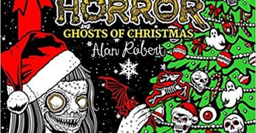 beautyofhorrorghostsofchristmas 375x195 - The Beauty of Horror: Ghosts of Christmas Coloring Book Review