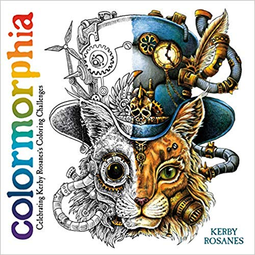 Colormorphia coloring book by Kerby Rosanes