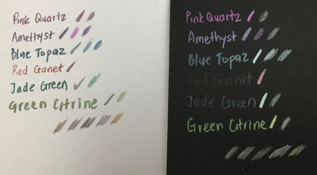 Spectrum noir metallic markers and pencils