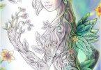 Sakuems Natural Enchantment second coloring book
