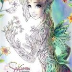 Sakuems Natural Enchantment second coloring book